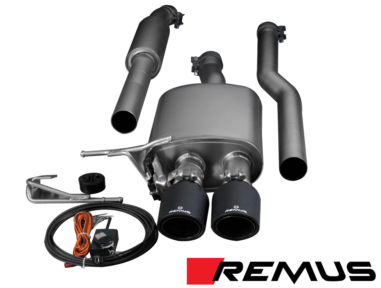 Remus Cat-Back/Axle Back Exhaust for 2015+ Mini Cooper S [F56] Powersound w/102mm Tips