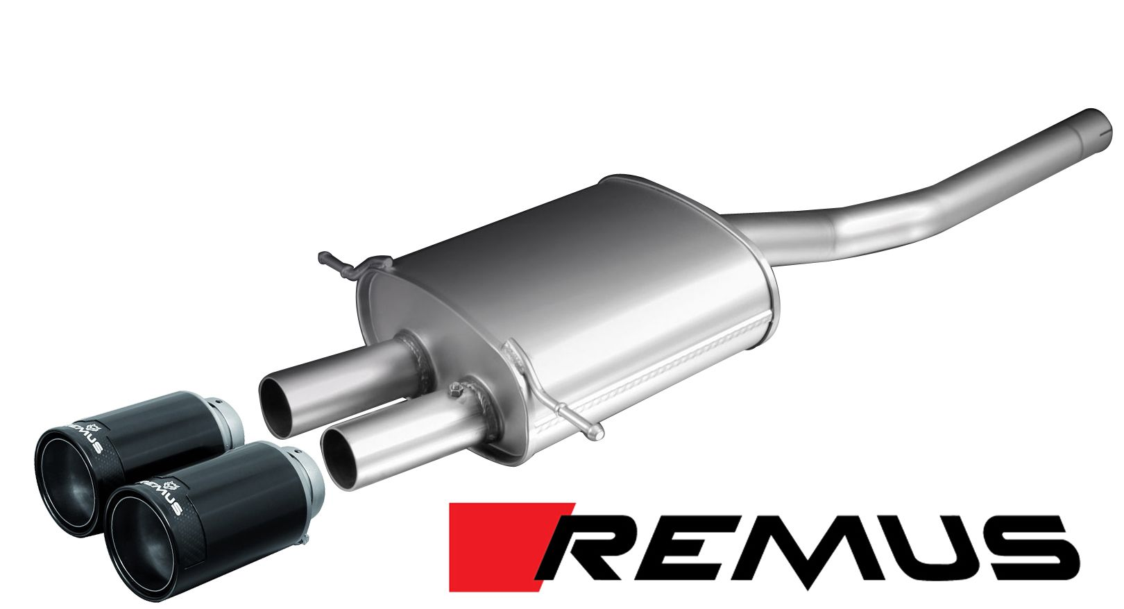 Remus SPORT Exhaust for 2007-14 Mini Cooper S [R56] 755106 099