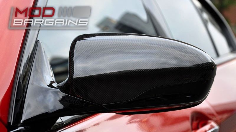 BMW F10 M5 F06 F12 F13 M6 Carbon Fiber Replacement Mirror Covers