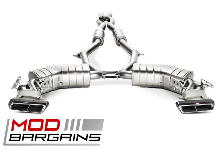 Akrapovic Evolution Exhaust System for Mercedes 2015+ S63 AMG Coupe & Cabriolet [C217] MTP-ME/T/1H