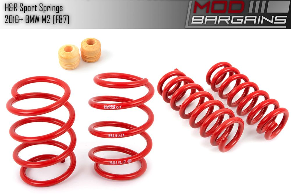 H&R Sport Springs for BMW M2 [F87] 28802-5