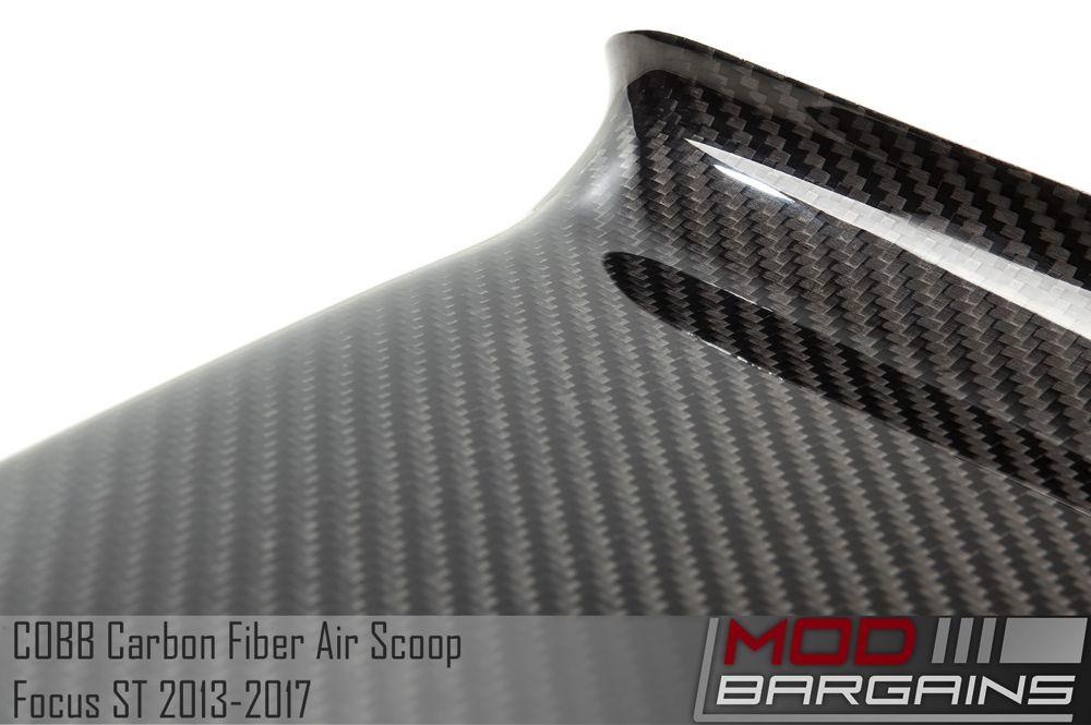 Carbon Fiber Detail of Cobb Focus ST Air Scoop 791450