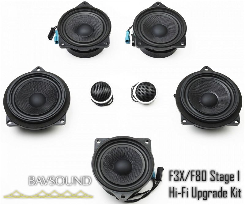 BAV Sound Stage 1 Kit BSD.S1.F30F31F34F80.Hi-Fi-Kit