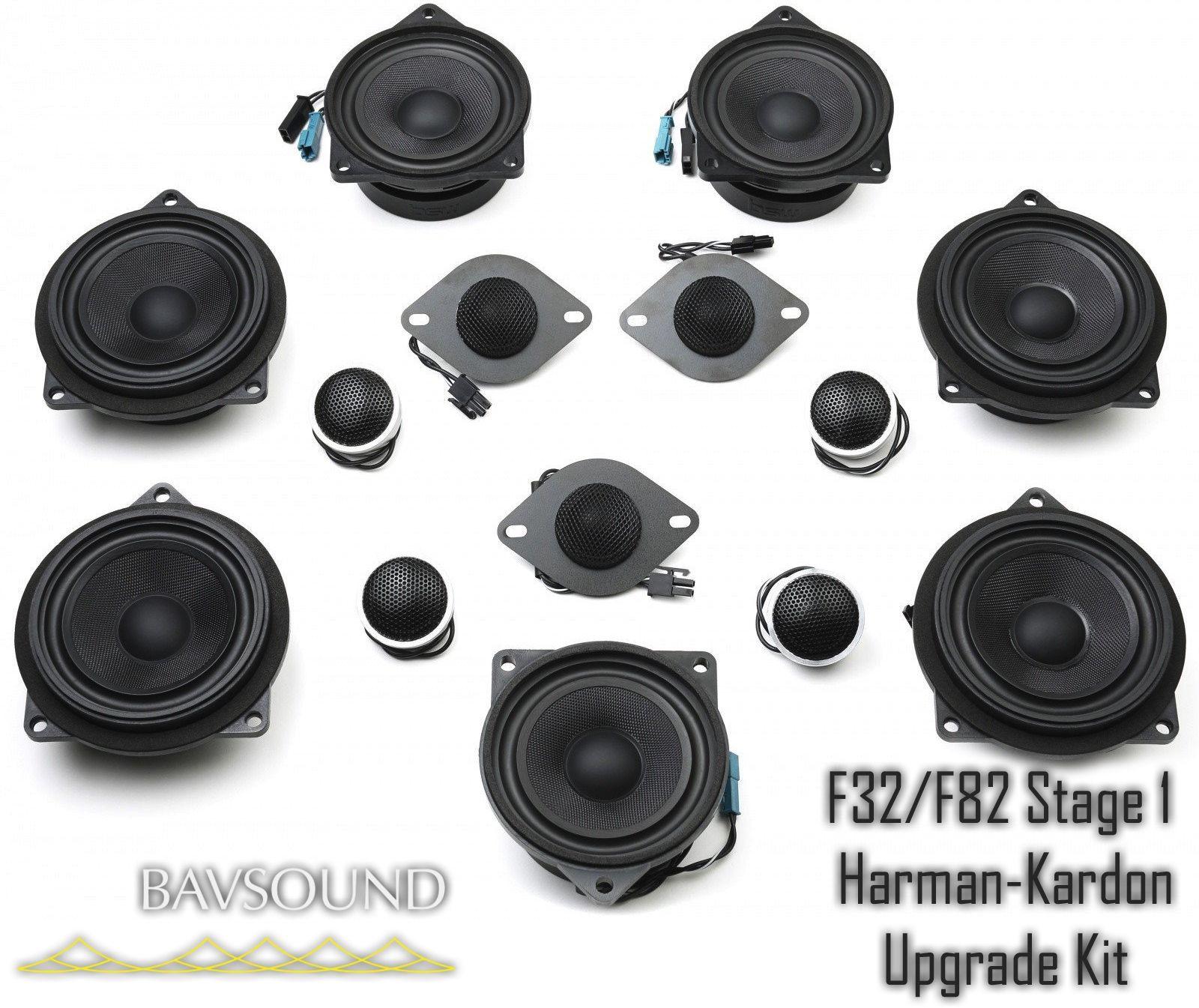 stage one bmw speaker upgrade for f32 f82 with harman kardon. Black Bedroom Furniture Sets. Home Design Ideas