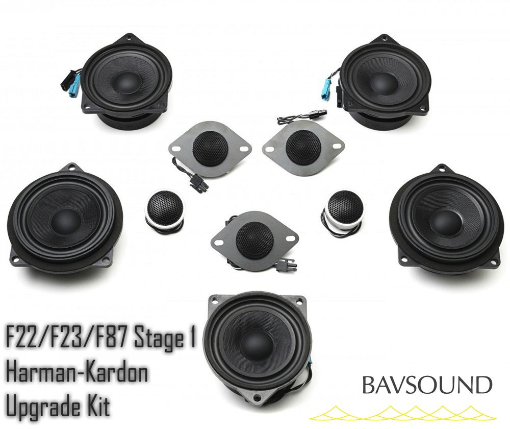 BAV Sound F32/F82 Stage One Speaker Upgrade (Harman-Kardon)