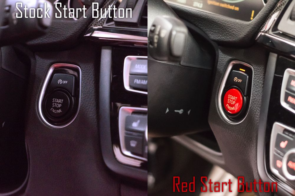 ModBargains com l Red start/stop button for BMW F-Chassis w/ auto