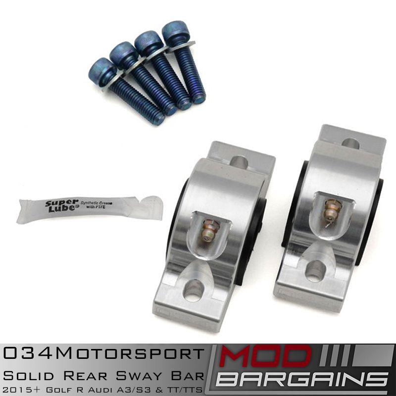 034Motorsport Rear Swaybar Kit Hardware & Bushings 034-402-1006