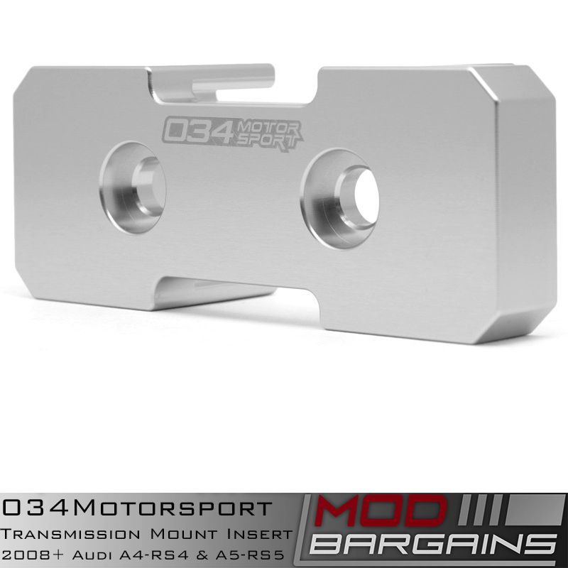 034Motorsport Billet Transmission Insert for B8 A4 though RS5 Audi Vehicles