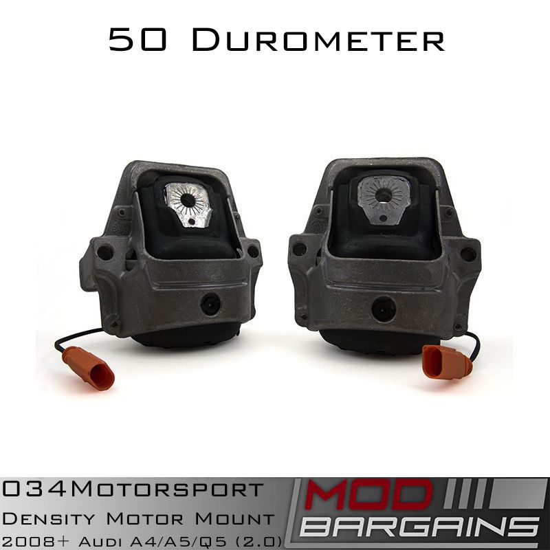034 Density Line Motor Mounts for B8  Audi A4/A5/Q5 2.0L vehicles