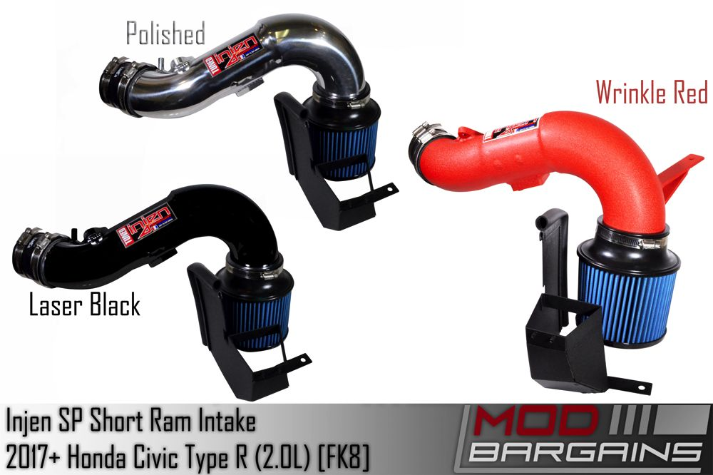 Injen Short Ram Intake for 2017 Honda Civic Type R 2.0L (SP1582)