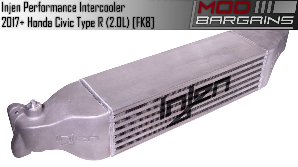 Injen Front Mount Intercooler for 2017 Honda Civic Type R 2.0L (FM1582i)