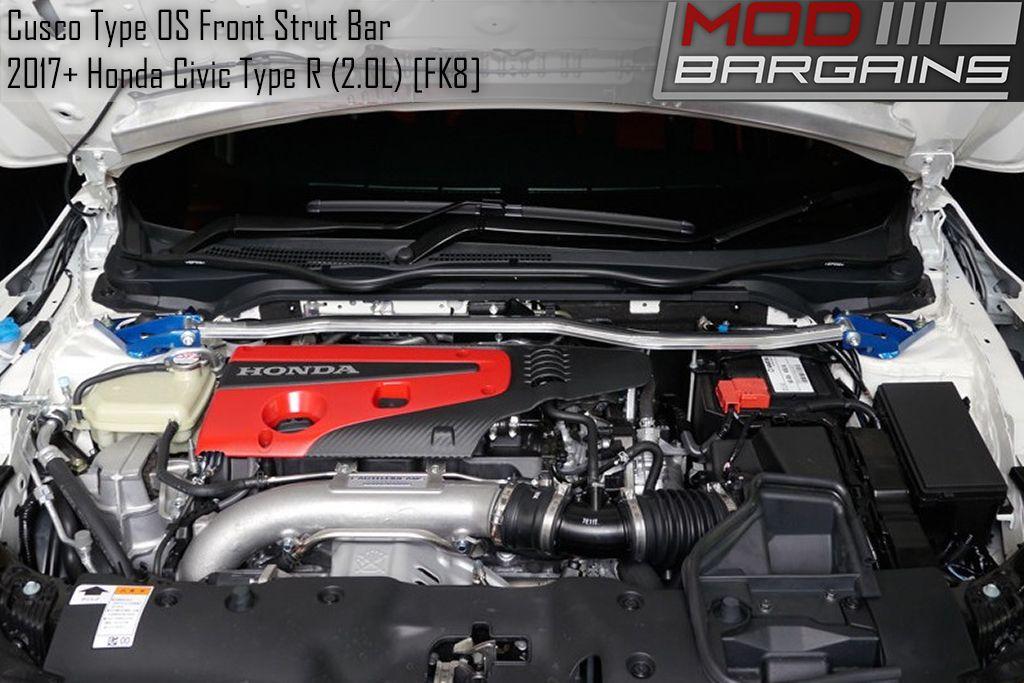 Cusco Front Strut Brace for Honda Civic Type R [FK8] 3C4 540 A
