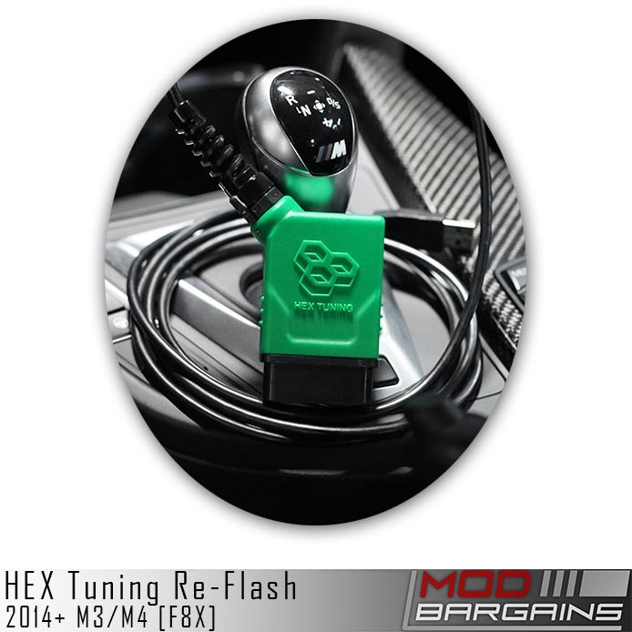HEX Tuning OBD2 Flash Tune for BMW M3/M4 F8X