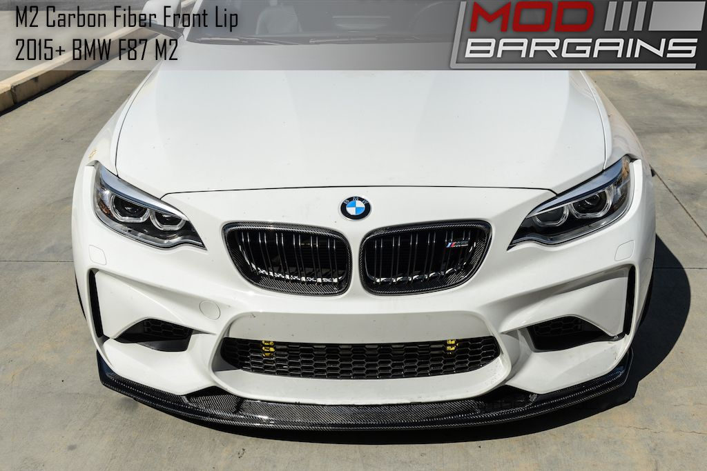Carbon Fiber Front Lip for 2015+ BMW M2 [F87] BMFS8703
