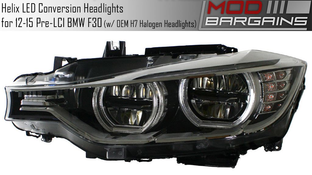 LED Headlight Conversion Set for BMW F30/F32 Vehicles
