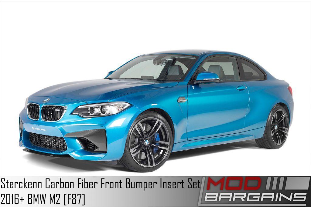 Sterckenn Carbon Fiber Front Fiber Insert Set for 2016 BMW M2