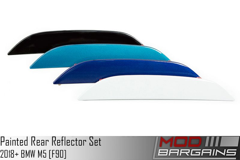 Painted Rear Bumper Reflector set for F90 M5
