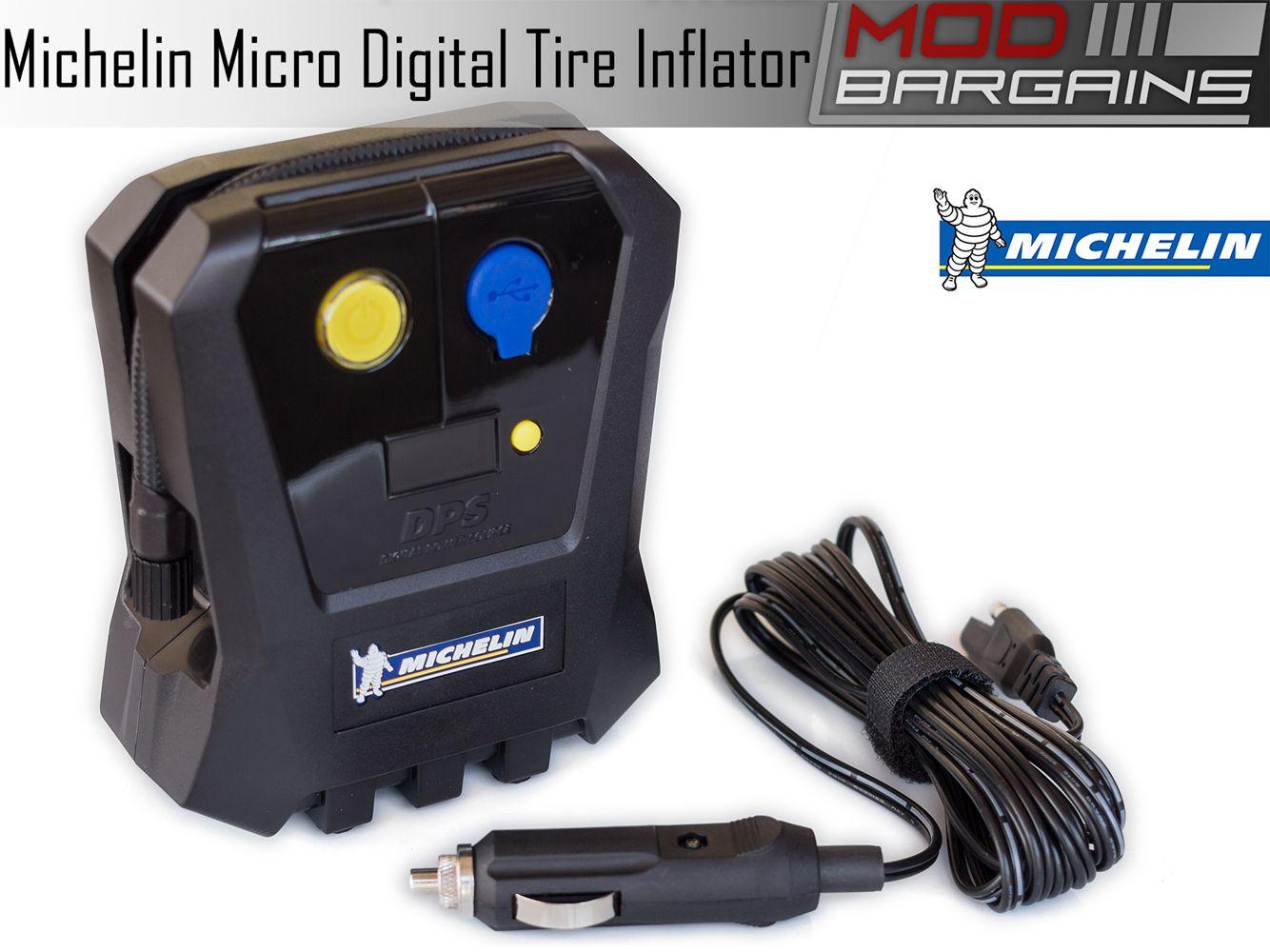 Michelin Micro 12 Volt Digital Tire Inflator