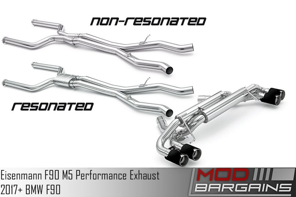 Eisenmann Exhaust for 2017+ BMW M5 [F90] (B5555.00904)