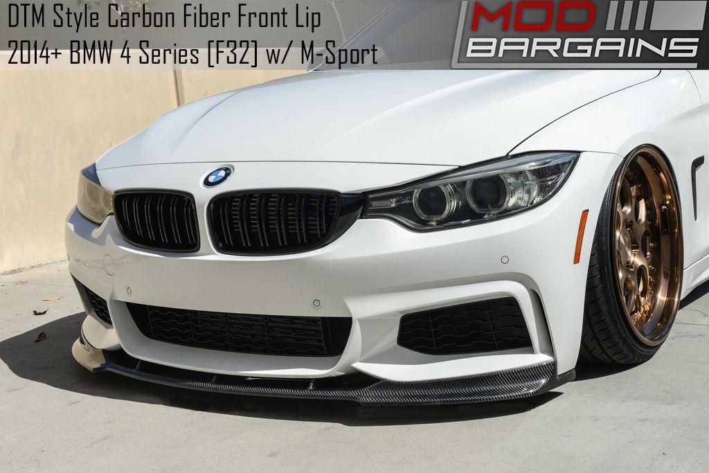 DTM style Carbon Fiber Front Lip for BMW 4 Series w/ M Sport [F32/F33/F36] - BMFS3227