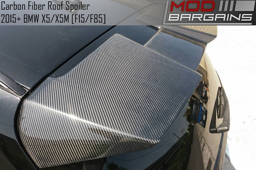 Carbon Fiber Roof Spoiler for BMW X5/X5M [F15/F85]