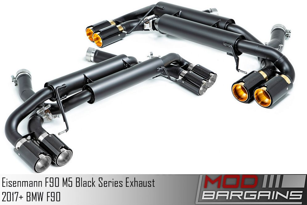 Eisenmann Black Series Exhaust for 2017+ BMW M5 [F90] (B5555.00904BC)