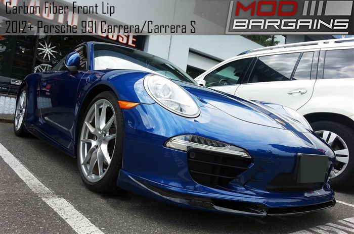 Carbon Fiber Full Lip for 2012+ Porsche 911 Carrera [991] POFS9103