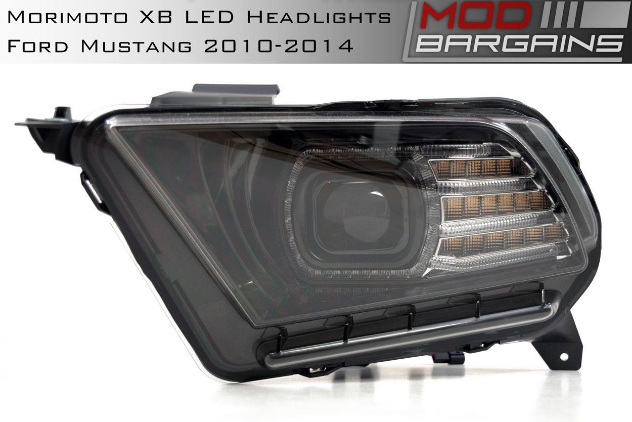 Morimoto XB LED Headlights - (2010-2014 Ford Mustang)