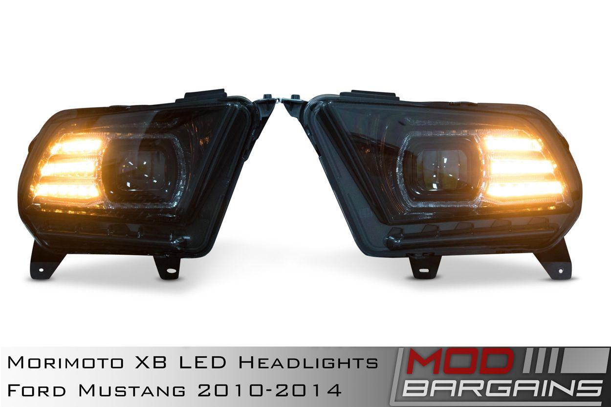 Morimoto XB LED Headlights for 2010-2014 Ford Mustang