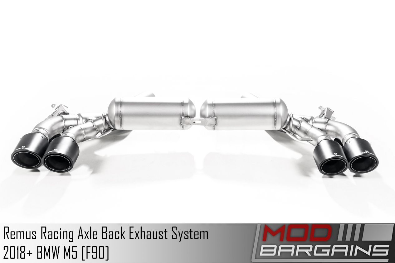 REMUS Race Exhaust System for 2018+ BMW M5 [F90] (089317 0500LR)