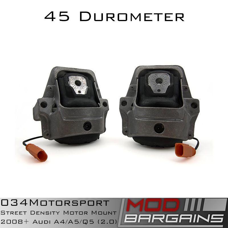 034 Density Line Motor Mounts for B8  Audi A4/A5/Q5 2.0L vehicles