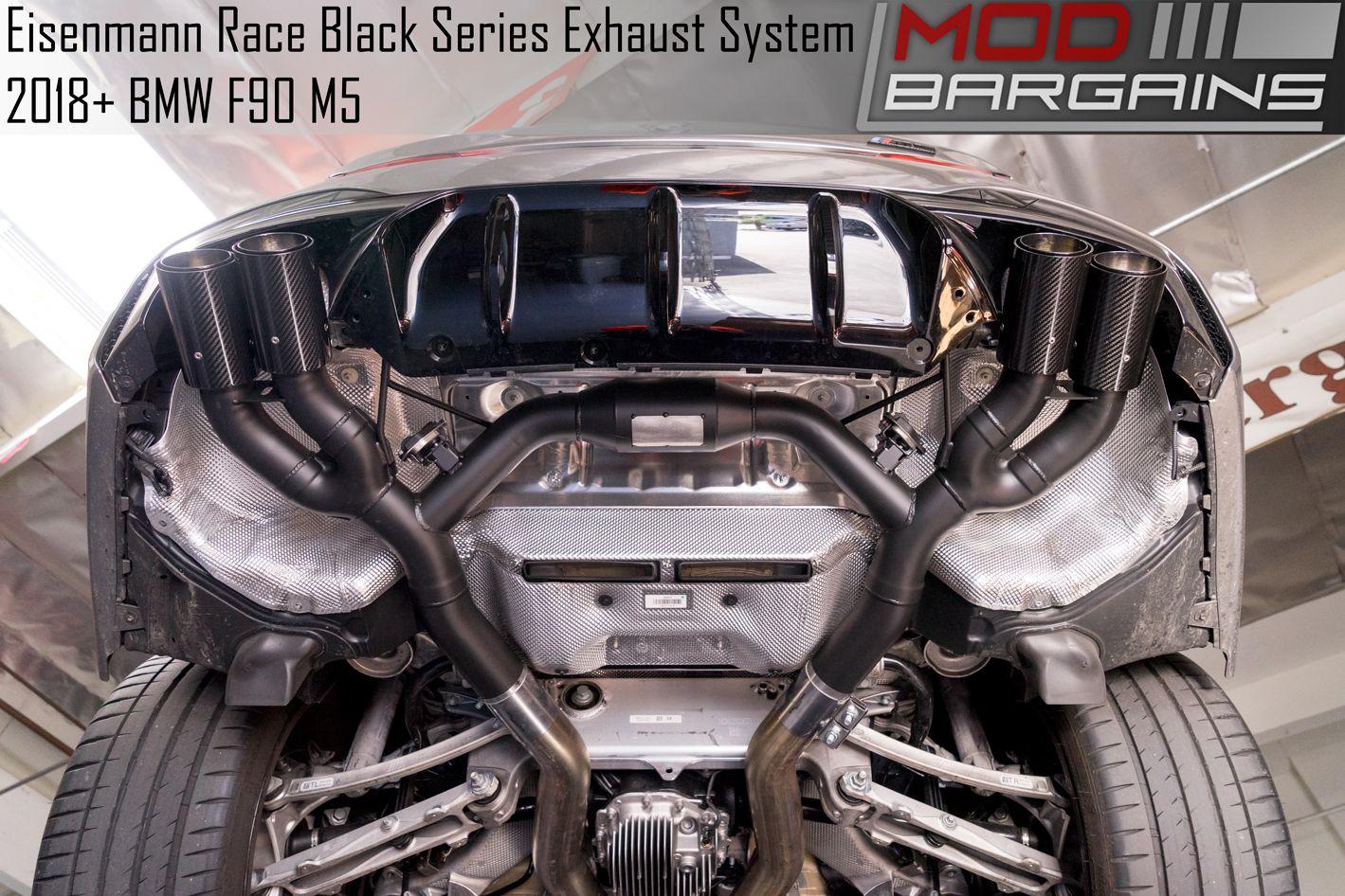 BMW F90 M5 Eisenmann Exhaust Black Series Weight Savings