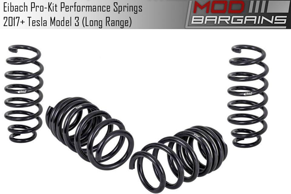 Get Eibach Pro-Kit Performance Lowering Springs Tesla Model 3