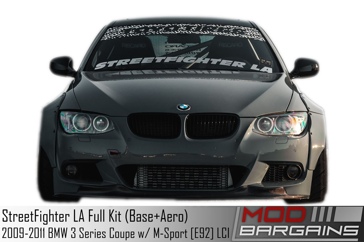 STREETFIGHTER LA Wide Body Kit for 2009-2013 BMW 3 Series LCI M-Sport Coupe [E92]