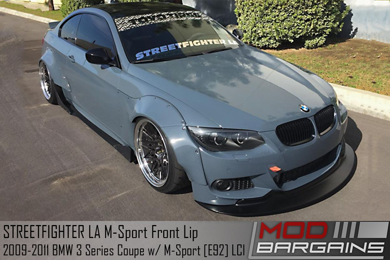 BMW E92 M-Tech Front Lip (From STREETFIGHTER LA)