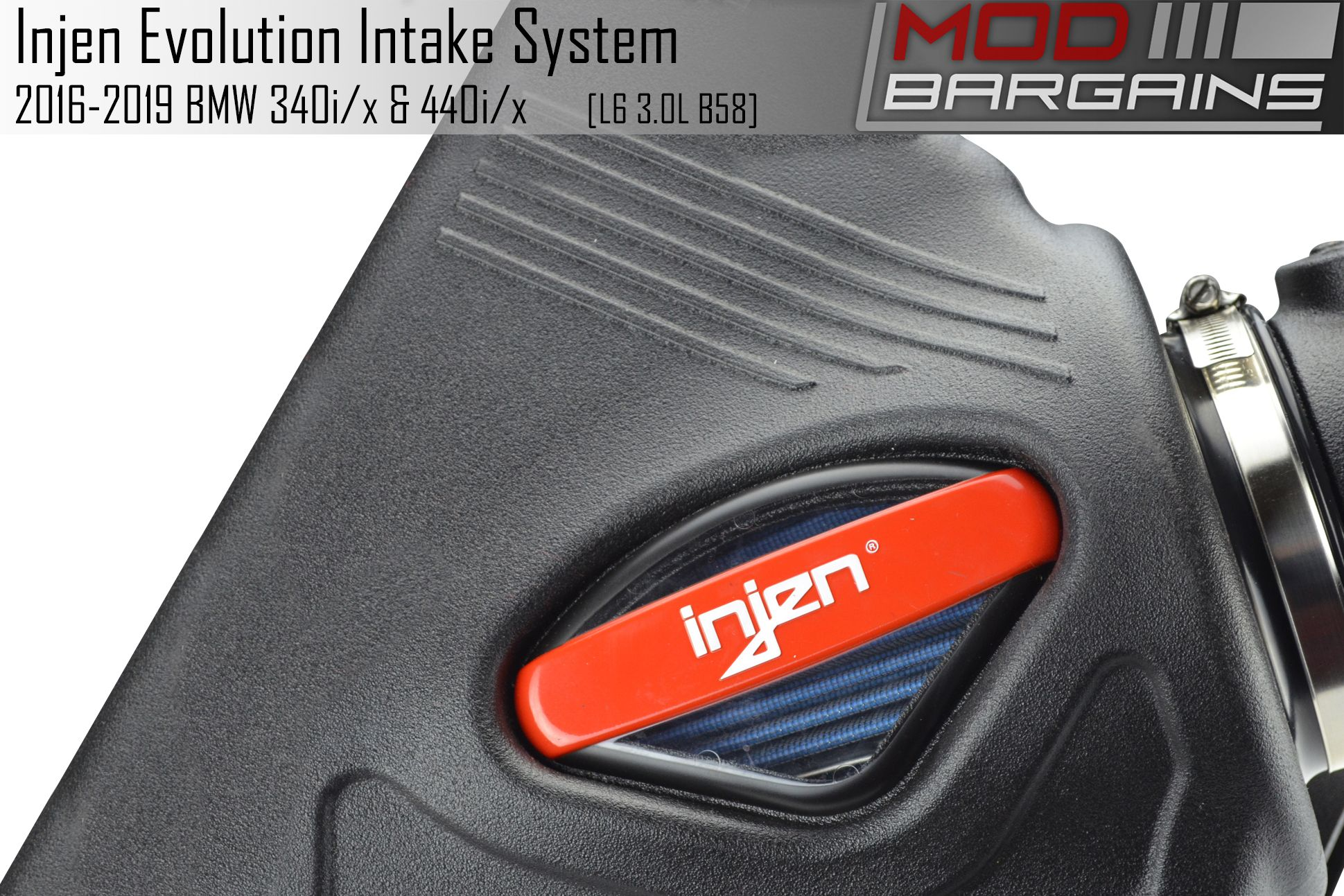 Injen Evolution Cold Air Intake for 2016-2019 BMW M240i,340i and 440i with B58 3.0T Engine