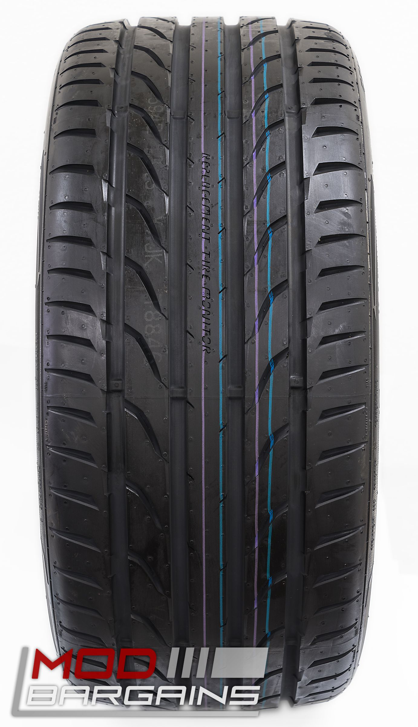 General G-MAX RS Ultra High Performance Tire Tread View