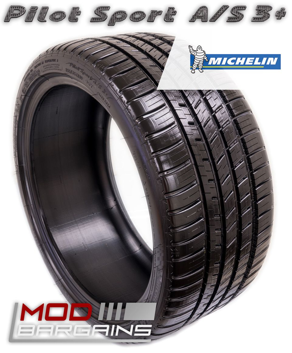 Michelin Pilot Sport A/S 3+ Tires (Ultra High Performance All Season)