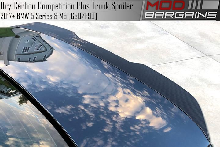Competition Plus Dry Carbon Trunk Spoiler for F90 M5 & G30 5 Series