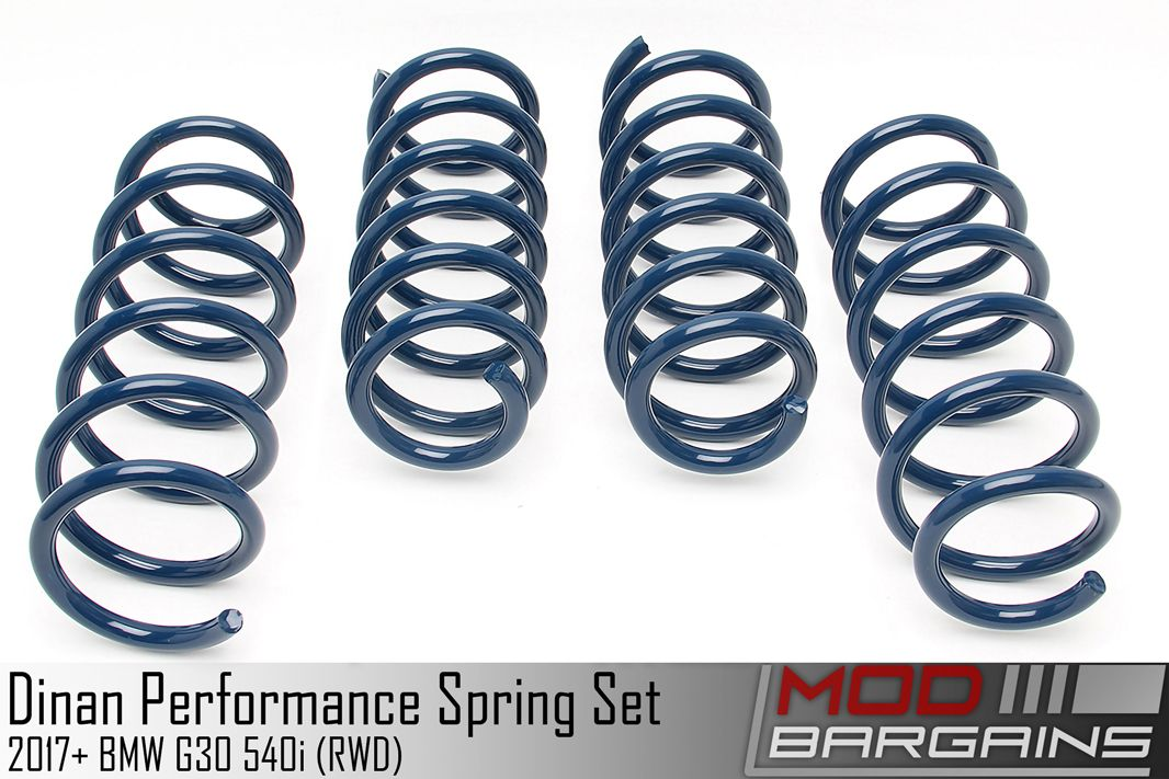 Dinan Performance Lowering Spring Set for 2018+ BMW G30 M540i RWD - D100-0933