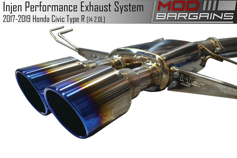 Injen Technology Exhaust for 2017+ Honda Civic Type R ...